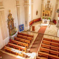 St. Willibald - Innenaufnahme