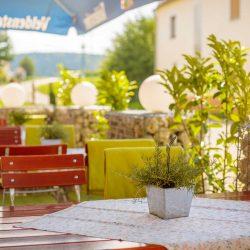 Gasthaus Laurer Aussenbereich